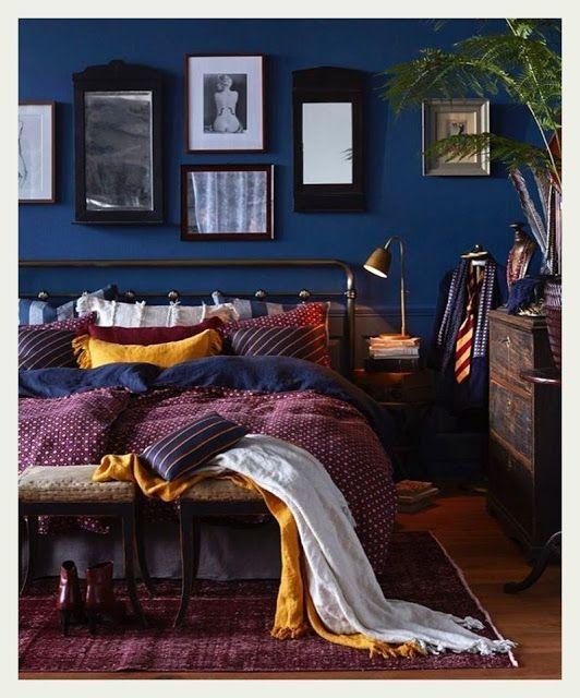 Lovely Masculine Boho Bedroom Designs31