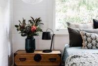 Lovely Masculine Boho Bedroom Designs37