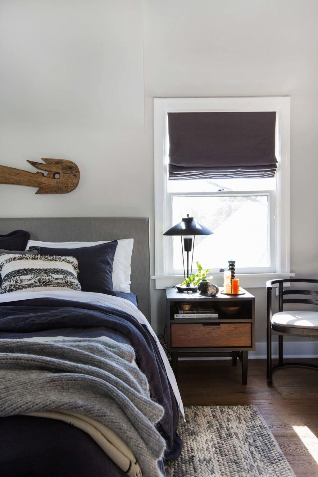 Lovely Masculine Boho Bedroom Designs41
