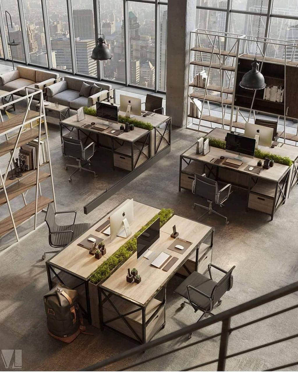 Modern Home Office Design Ideas35
