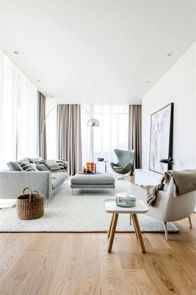 Perfect Scandinavian Living Room Design Ideas04