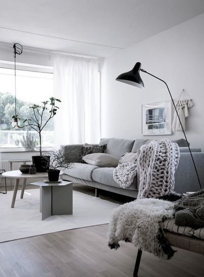 Perfect Scandinavian Living Room Design Ideas25