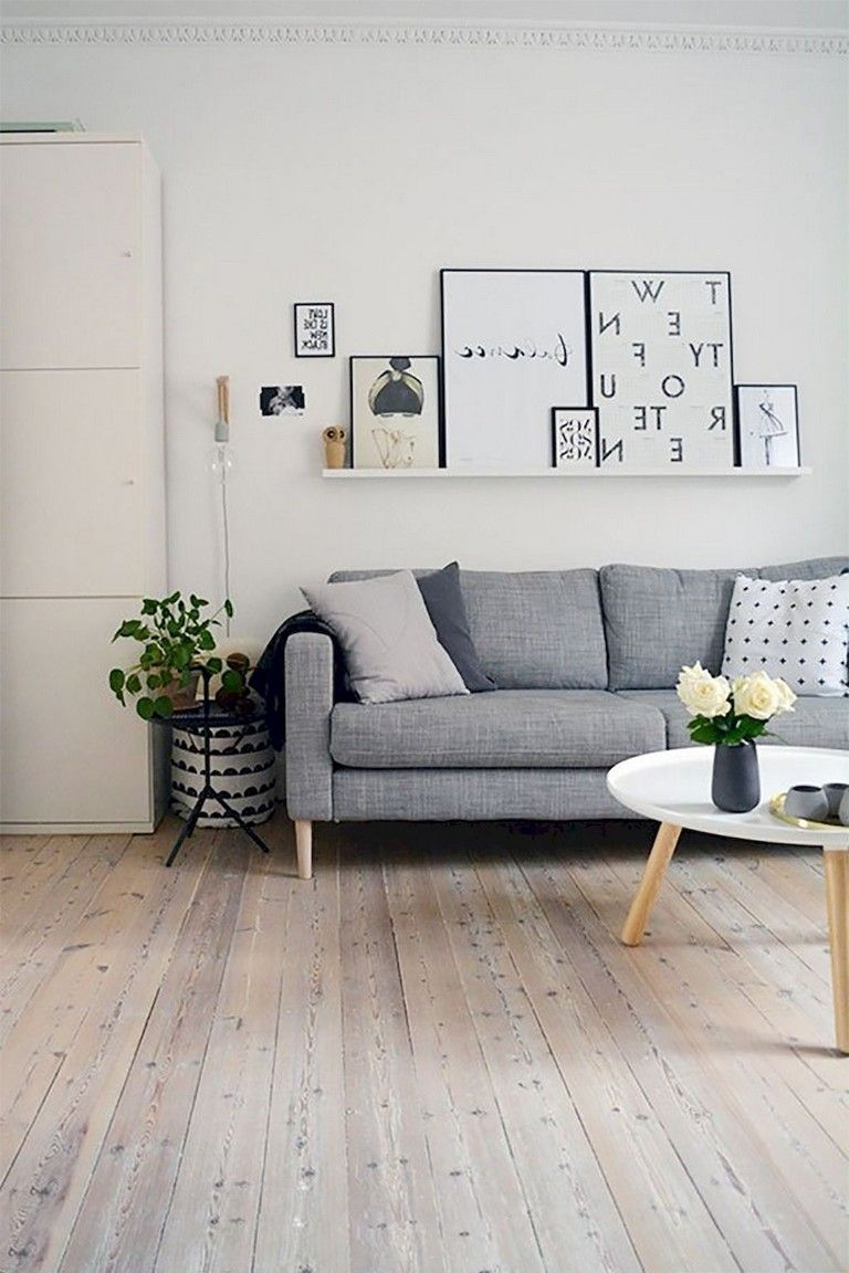 Perfect Scandinavian Living Room Design Ideas26