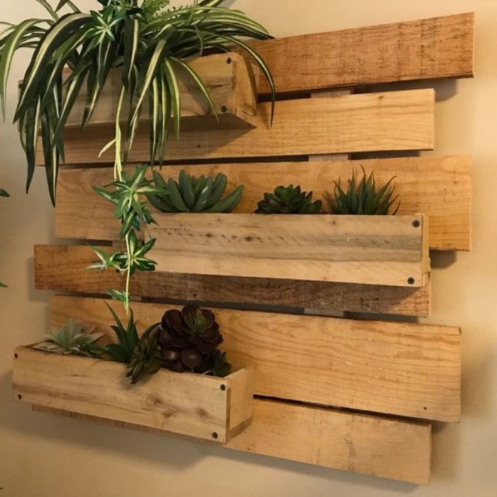 Simple Wall Plants Decorating Ideas26