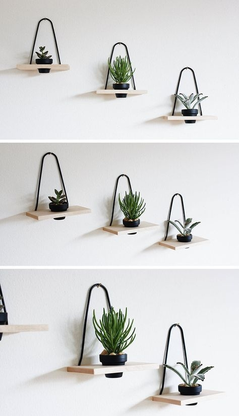 Simple Wall Plants Decorating Ideas44
