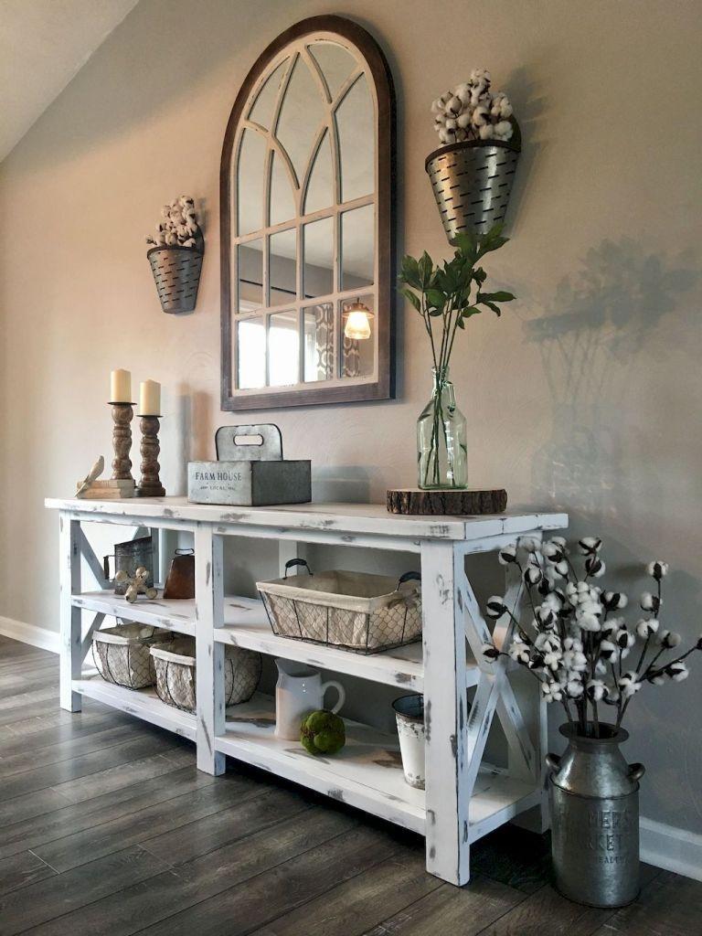 Smart Farmhouse Living Room Design Ideas14