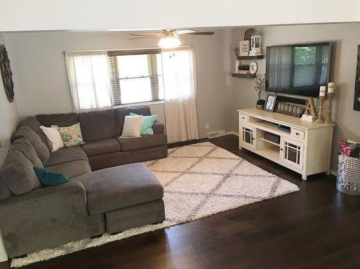 Smart Farmhouse Living Room Design Ideas39