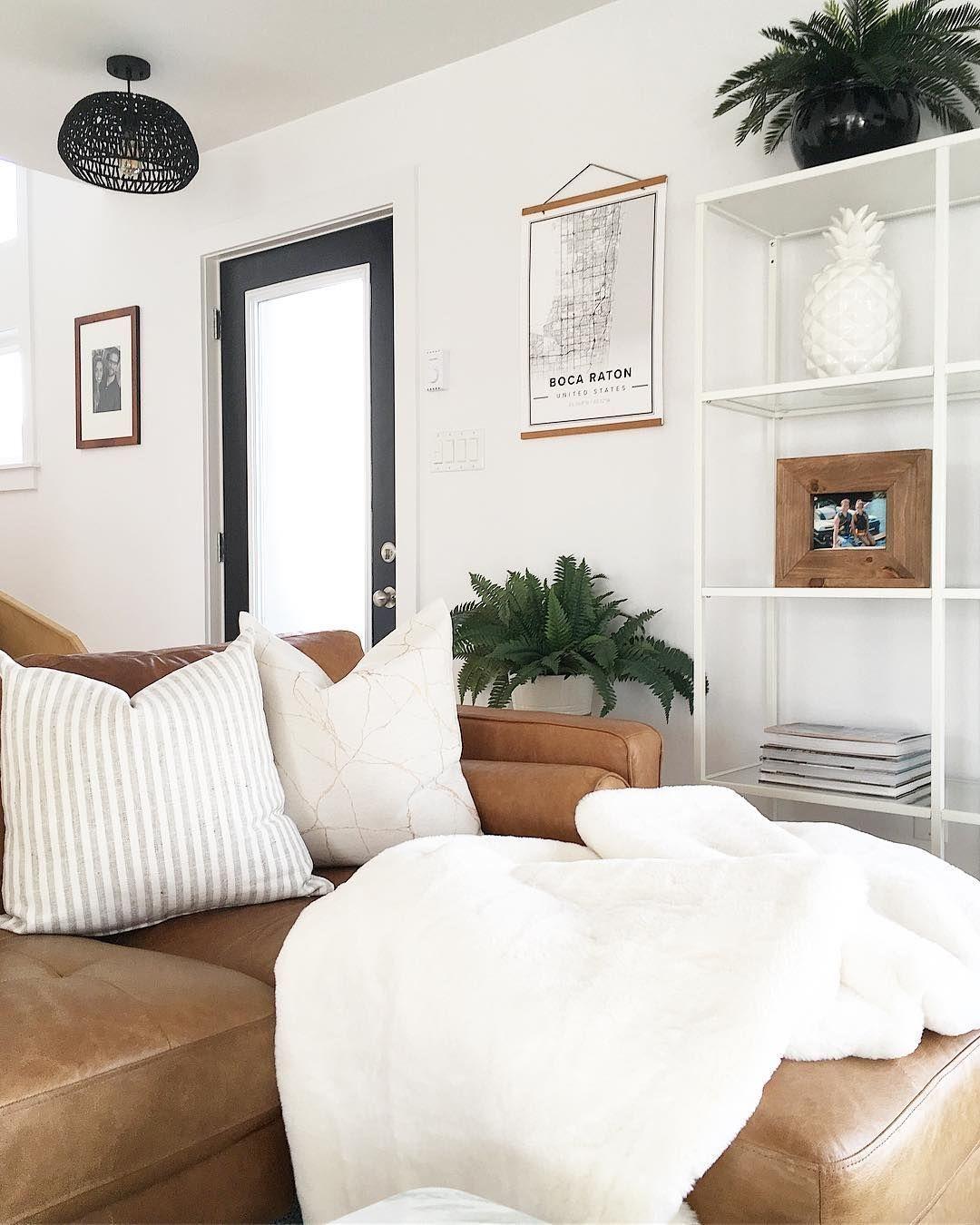 Smart Farmhouse Living Room Design Ideas45