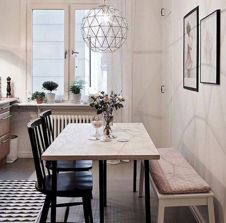Stunning Small Dining Room Table Ideas05