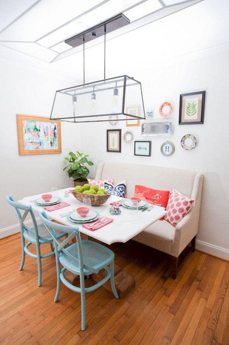 Stunning Small Dining Room Table Ideas15
