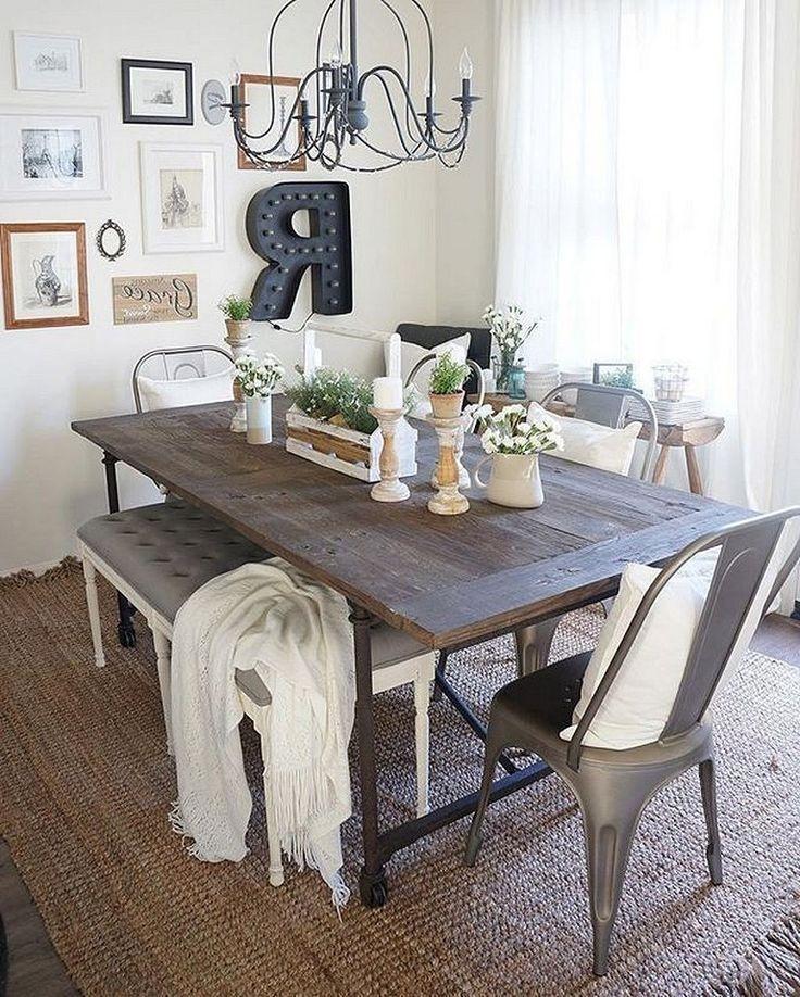 Stunning Small Dining Room Table Ideas28