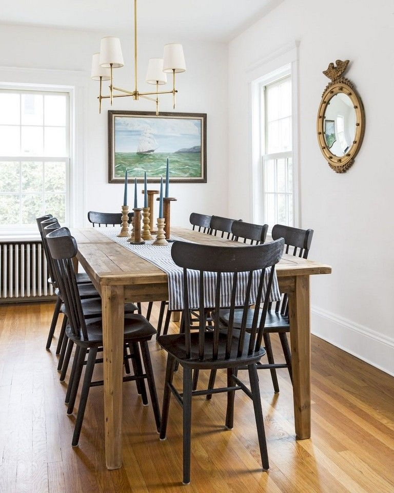 Wonderful French Country Dining Room Table Decor Ideas16
