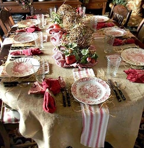 Wonderful French Country Dining Room Table Decor Ideas31