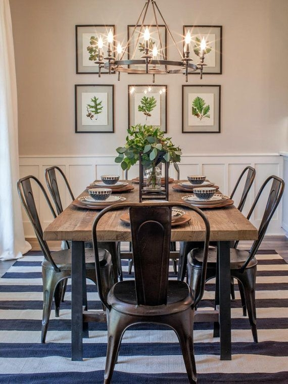 Captivating Dining Room Tables Design Ideas34