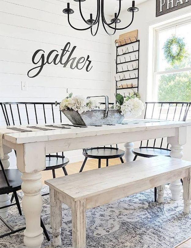 Captivating Dining Room Tables Design Ideas45