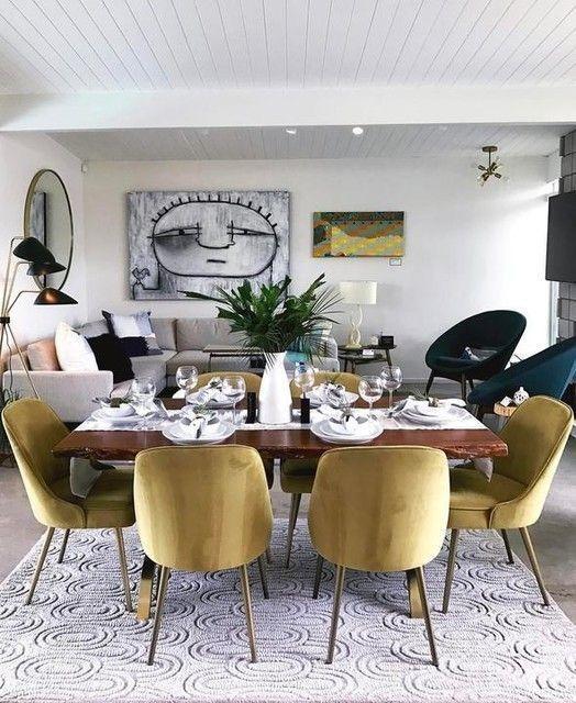 Captivating Dining Room Tables Design Ideas46
