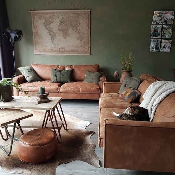 Creative Industrial Living Room Designs Ideas27