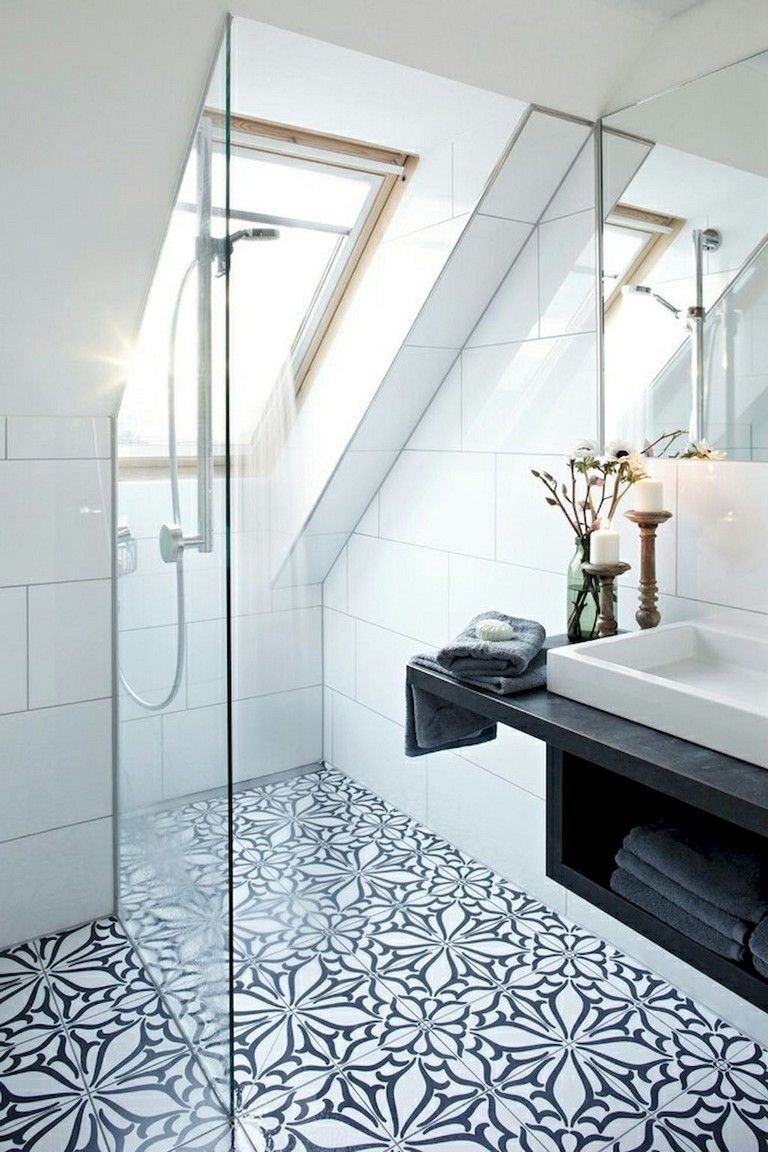 Fascinating Small Attic Bathroom Design Ideas06