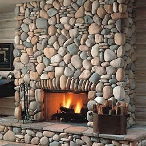 Impressive Stone Veneer Wall Design Ideas14