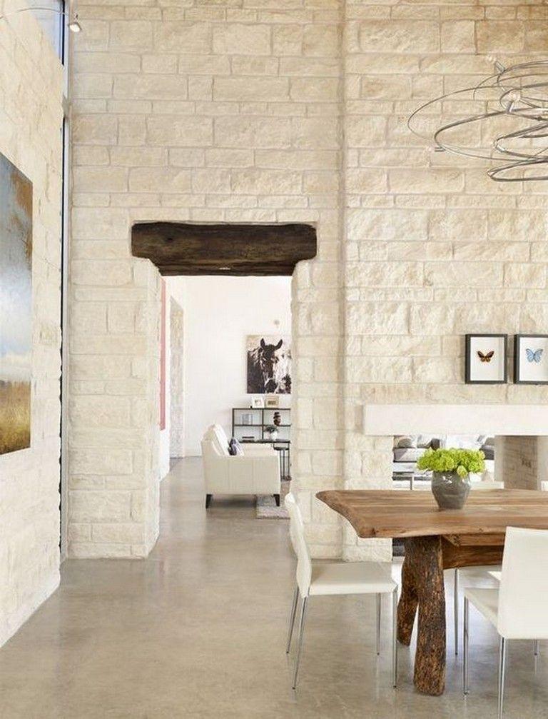 Impressive Stone Veneer Wall Design Ideas19