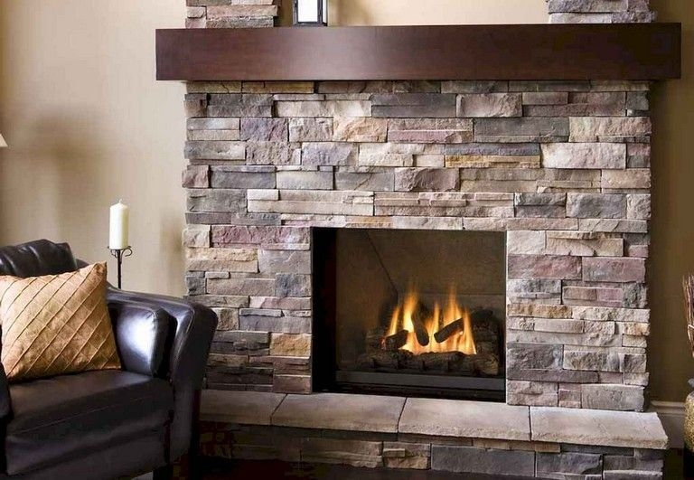 Impressive Stone Veneer Wall Design Ideas20