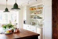 Modern Kitchen Design Ideas With Integrated Refrigerator40