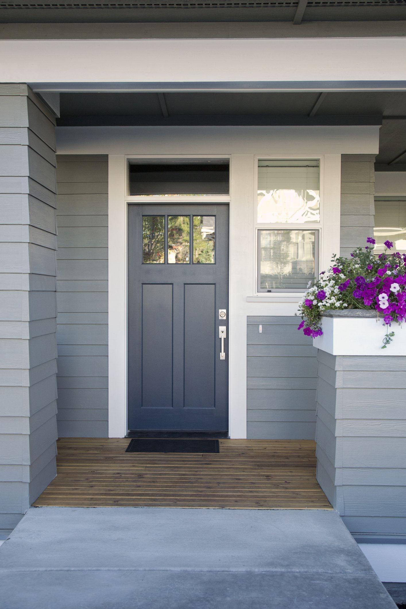 Perfect Painted Exterior Door Ideas02
