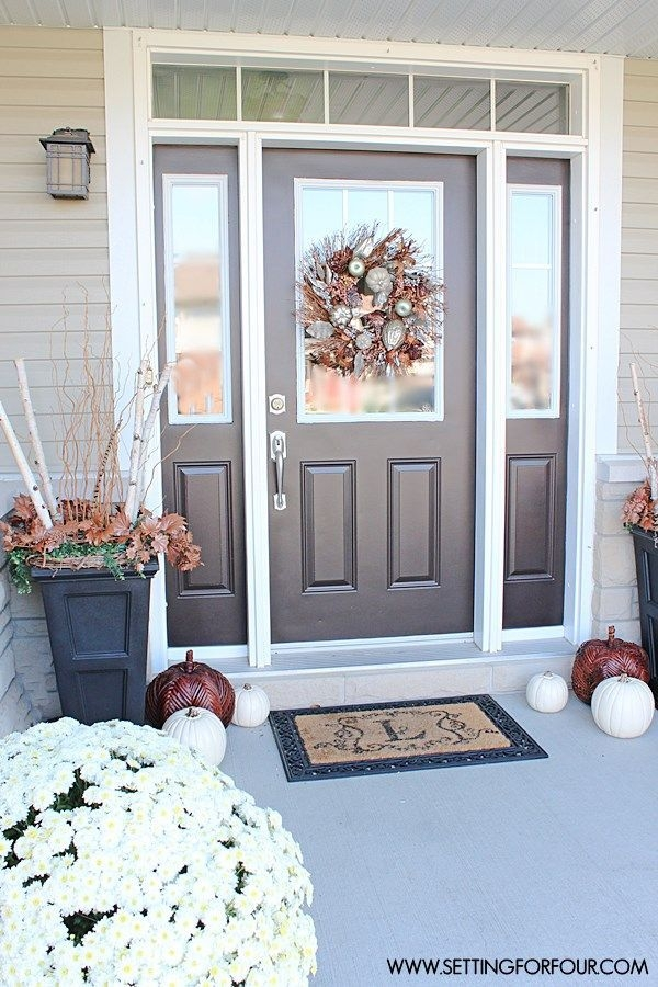 Perfect Painted Exterior Door Ideas05