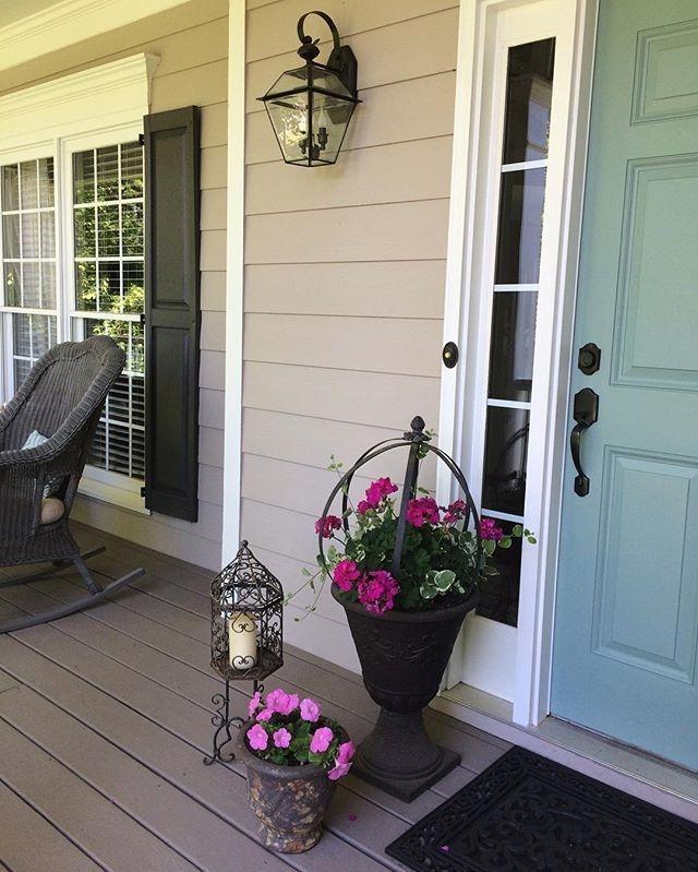 Perfect Painted Exterior Door Ideas06