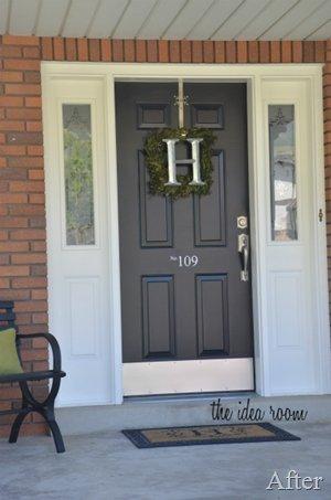 Perfect Painted Exterior Door Ideas09