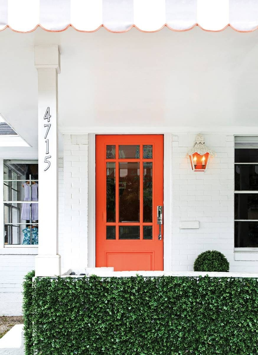 Perfect Painted Exterior Door Ideas10