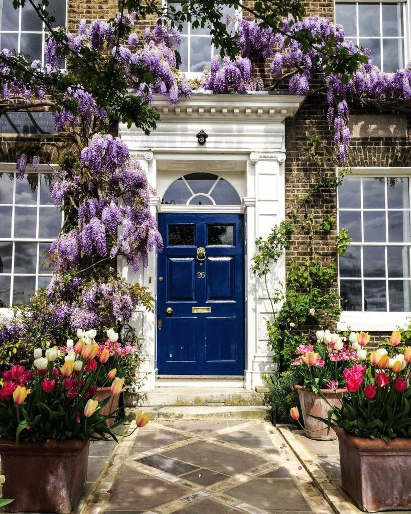 Perfect Painted Exterior Door Ideas11