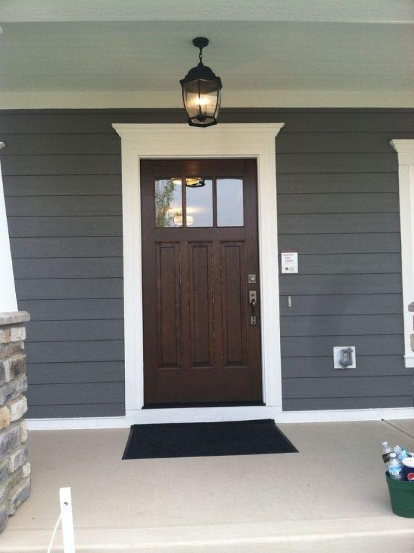 Perfect Painted Exterior Door Ideas12