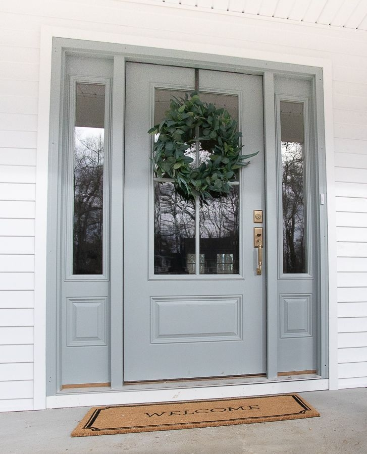 Perfect Painted Exterior Door Ideas15
