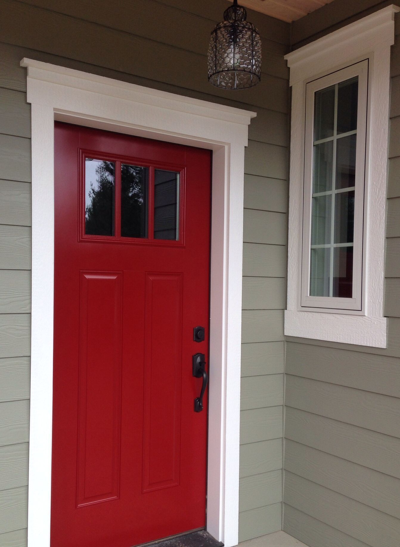 Perfect Painted Exterior Door Ideas23