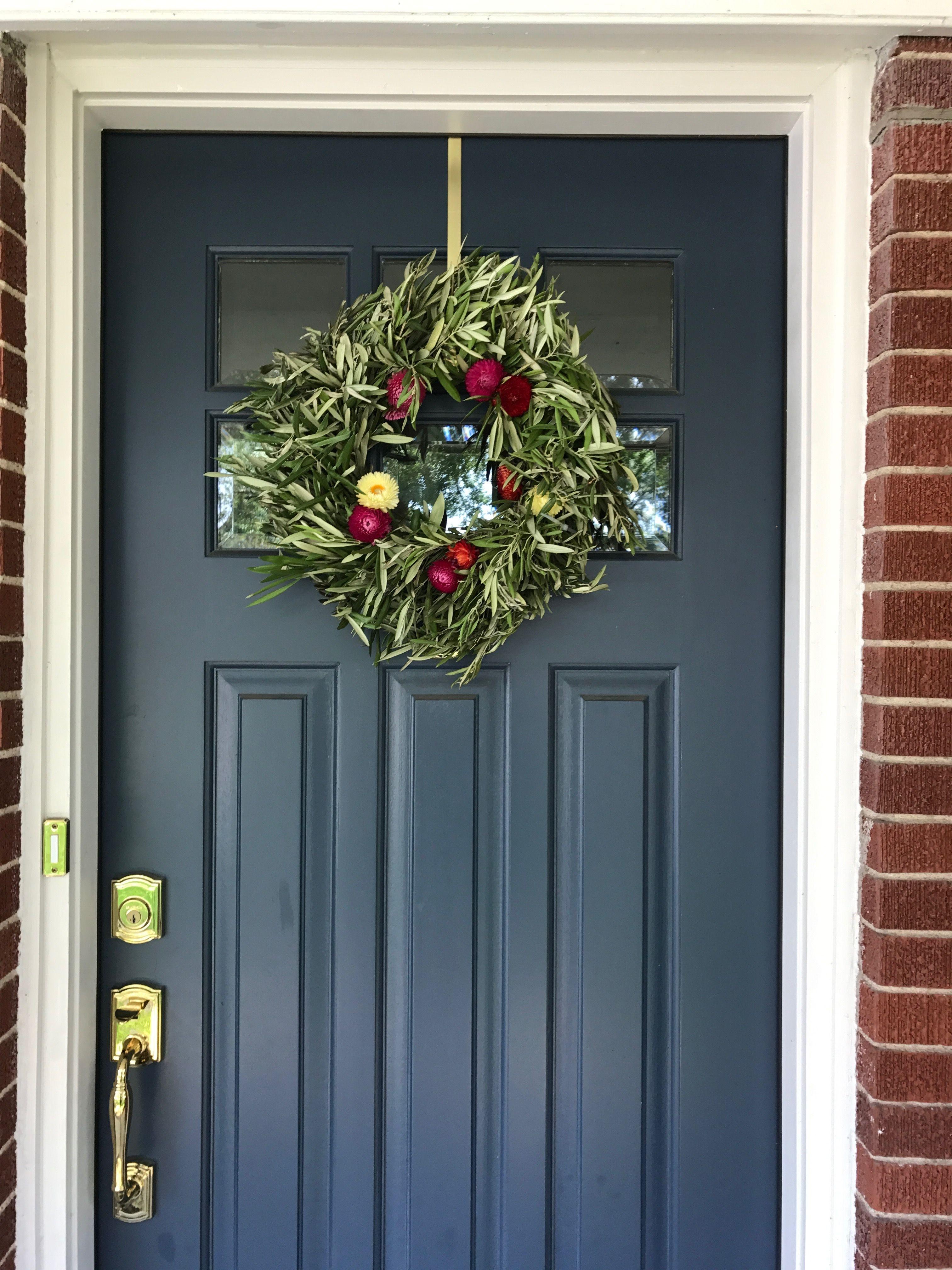 Perfect Painted Exterior Door Ideas29