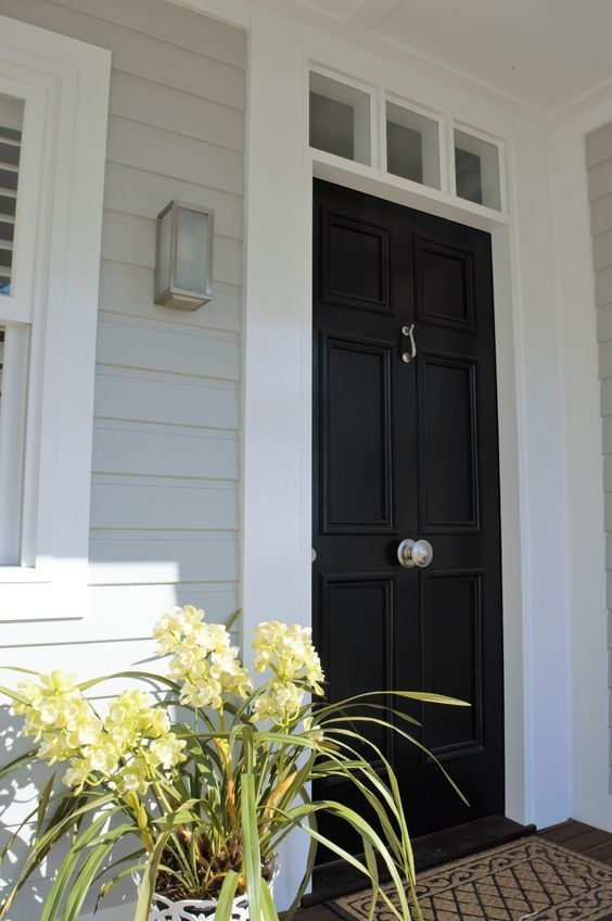 Perfect Painted Exterior Door Ideas32