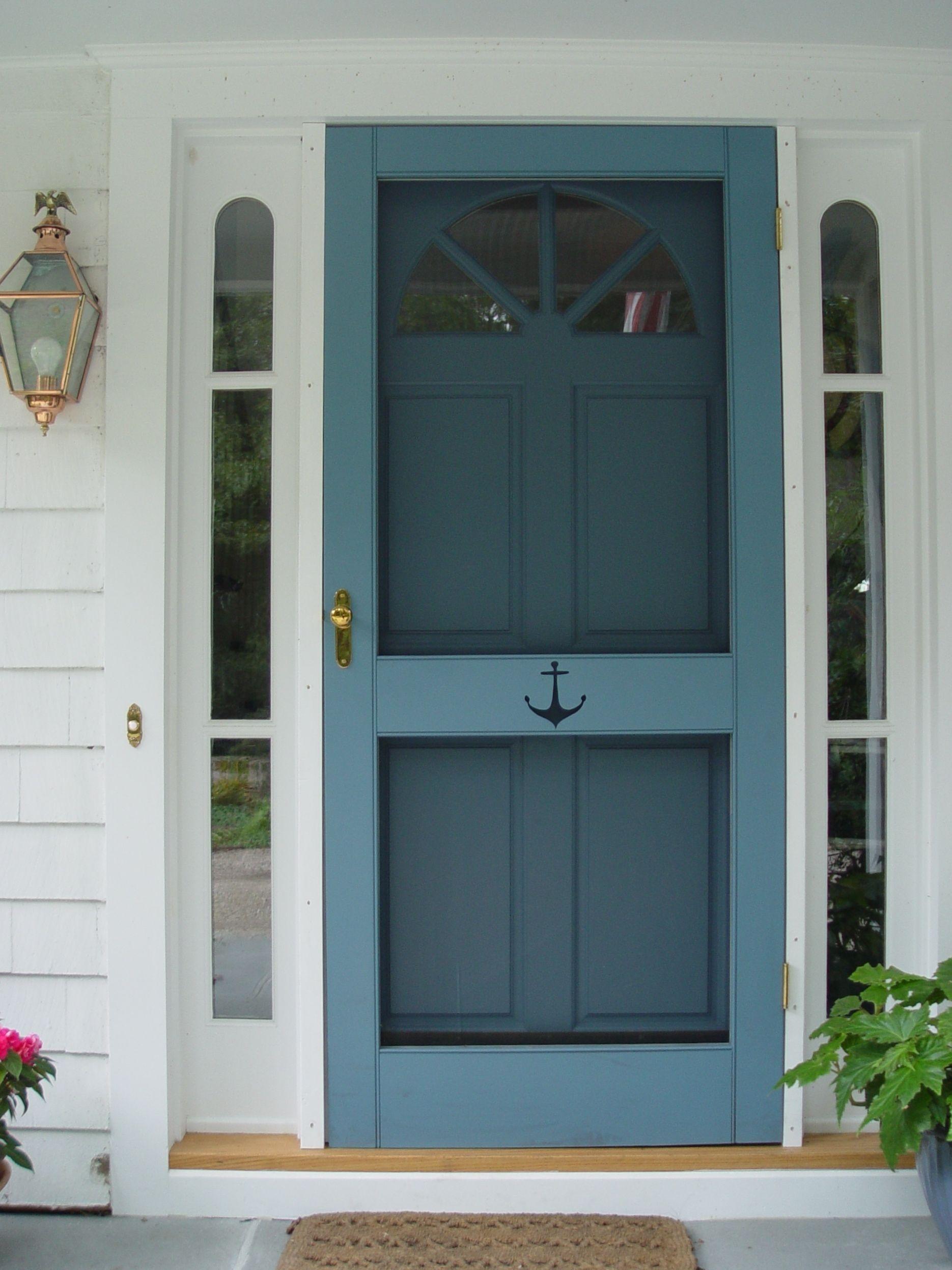 Perfect Painted Exterior Door Ideas36