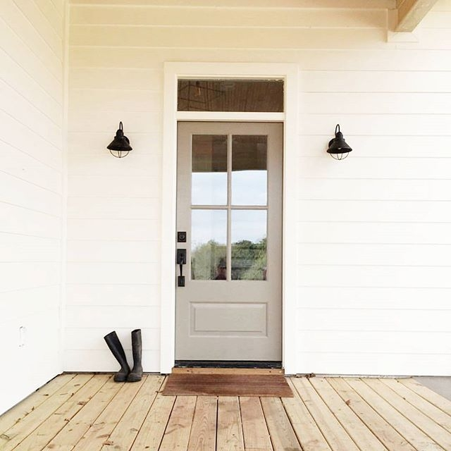 Perfect Painted Exterior Door Ideas40
