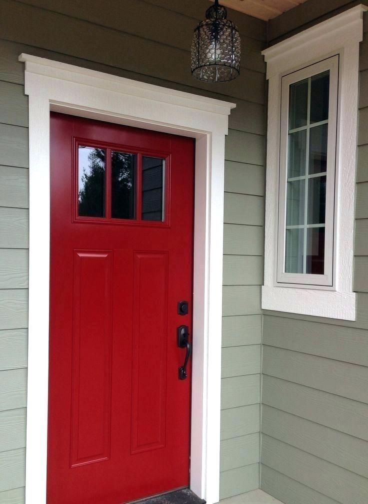 Perfect Painted Exterior Door Ideas41