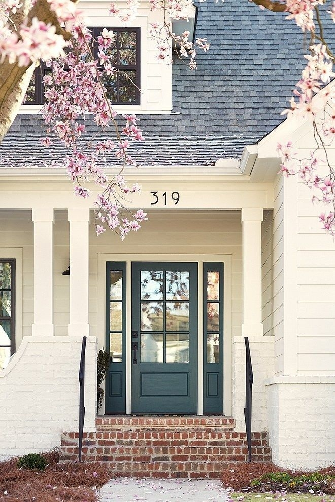 Perfect Painted Exterior Door Ideas44
