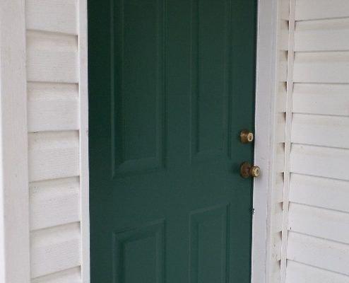 Perfect Painted Exterior Door Ideas45