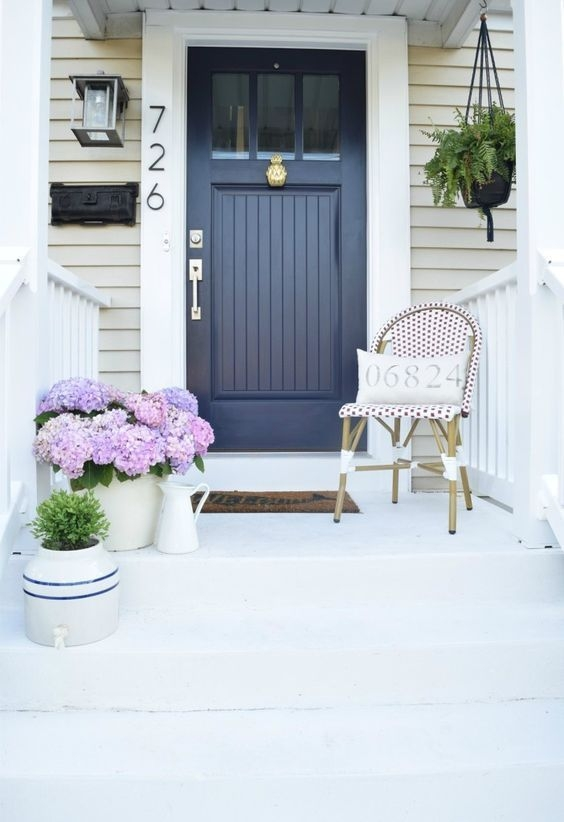 Perfect Painted Exterior Door Ideas47