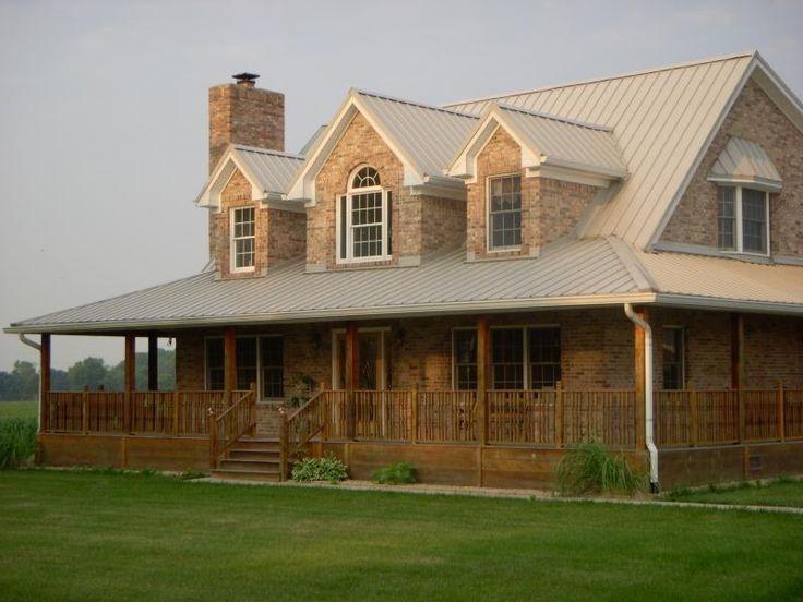 47 Creative Farmhouse House Plans Ideas With Wrap Around Porch Zyhomy
