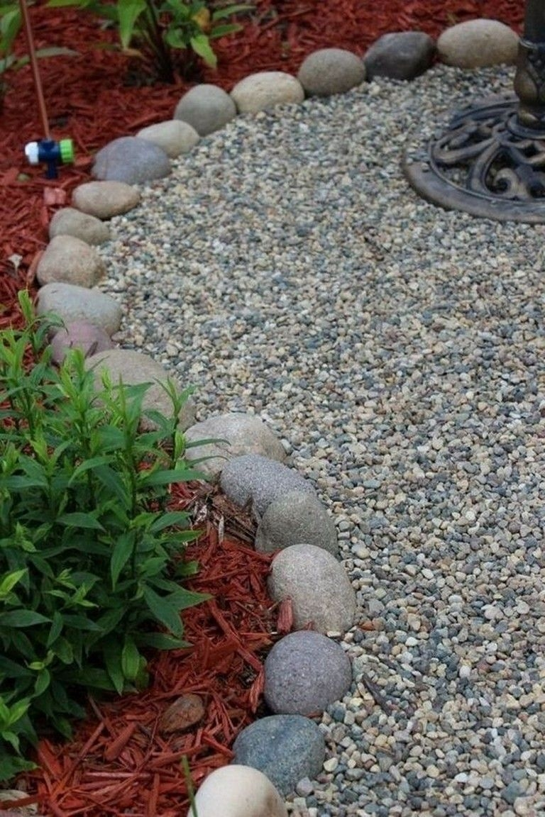 Magnificient Gravel Landscaping Design Ideas For Backyard42