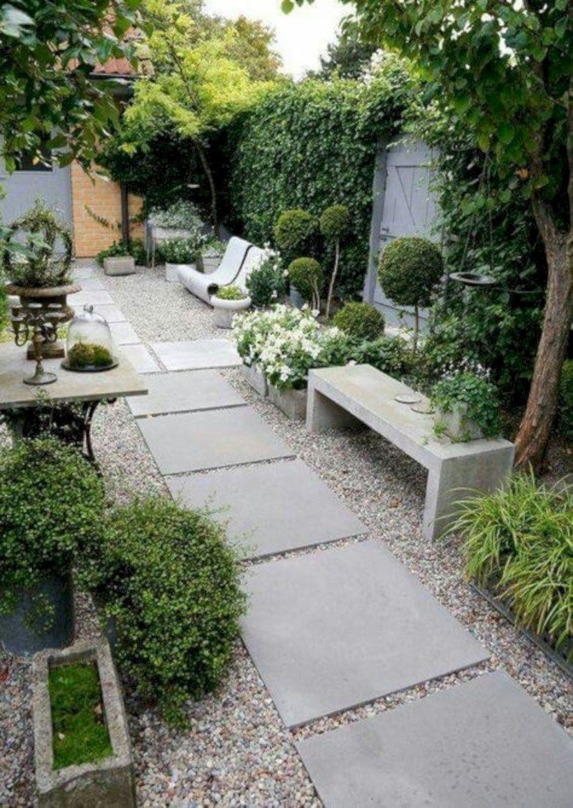 Magnificient Gravel Landscaping Design Ideas For Backyard45