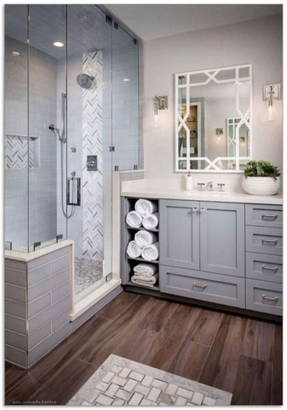 Outstanding Bathroom Makeovers Ideas For Small Space01