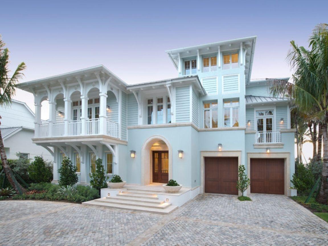 46 Wonderful Beach House Exterior Color Ideas Zyhomy