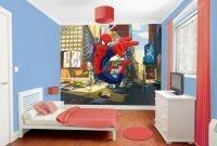 Best Memorable Childrens Bedroom Ideas With Superhero Posters 45