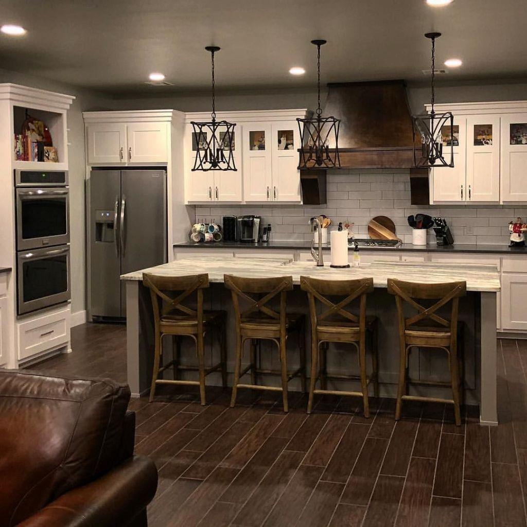 Casual Diy Farmhouse Kitchen Decor Ideas To Apply Asap 31